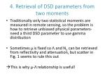 4 retrieval of dsd parameters from two moments
