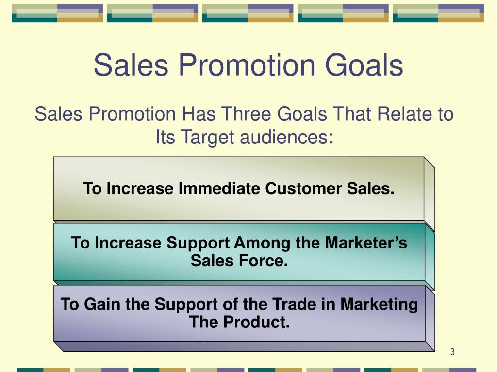 To Increase Immediate Customer Sales.
