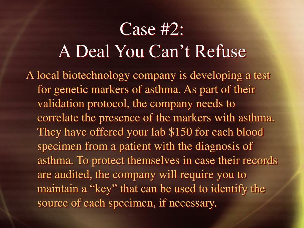 Case #2: