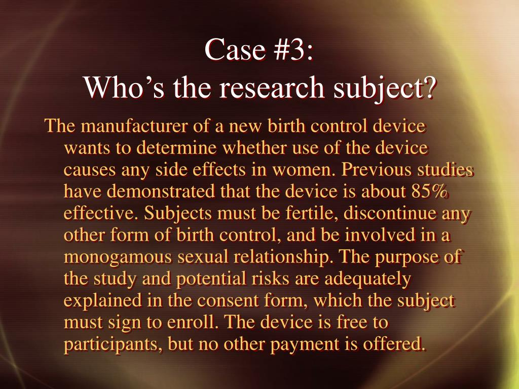 Case #3: