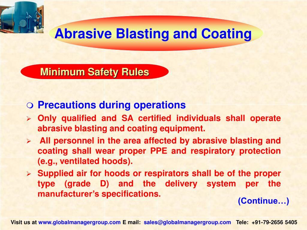 Abrasive Blasting and Coating