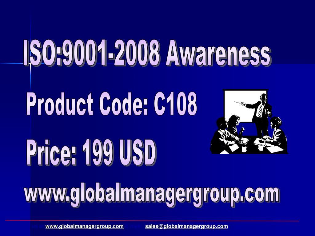 ISO:9001-2008 Awareness