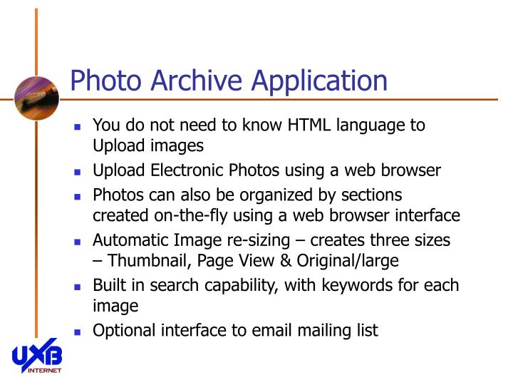 Photo archive application2