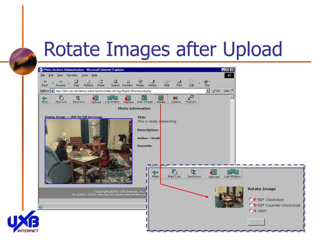 Rotate Images after Upload