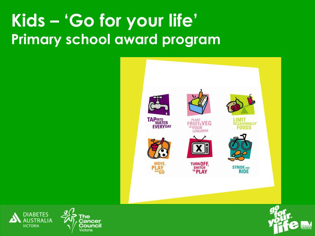 Kids – 'Go for your life'