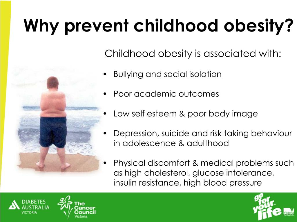 Childhood obesity is associated with: