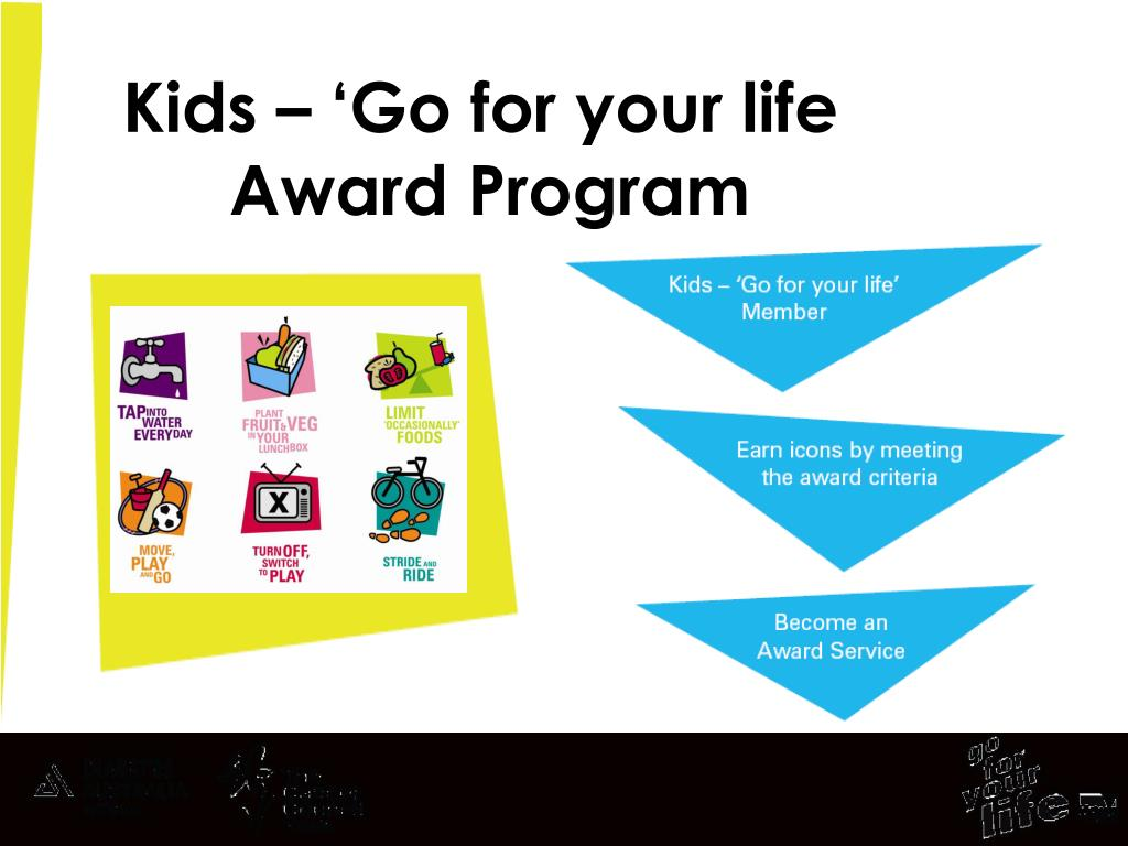Kids – 'Go for your life