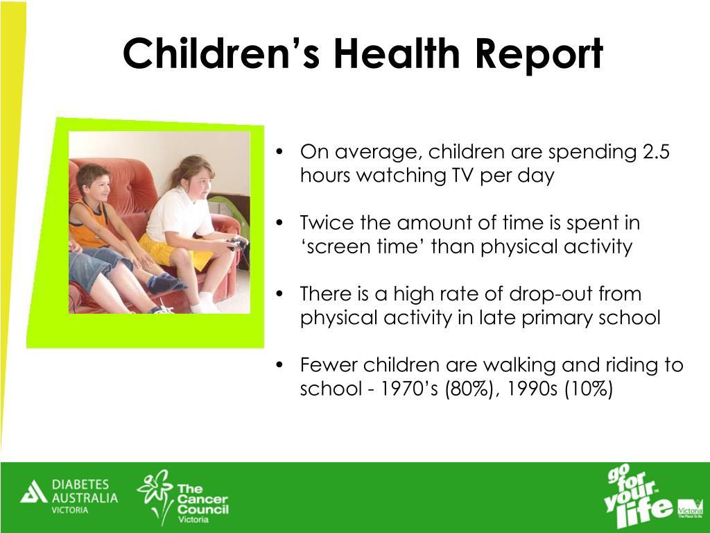 Children's Health Report