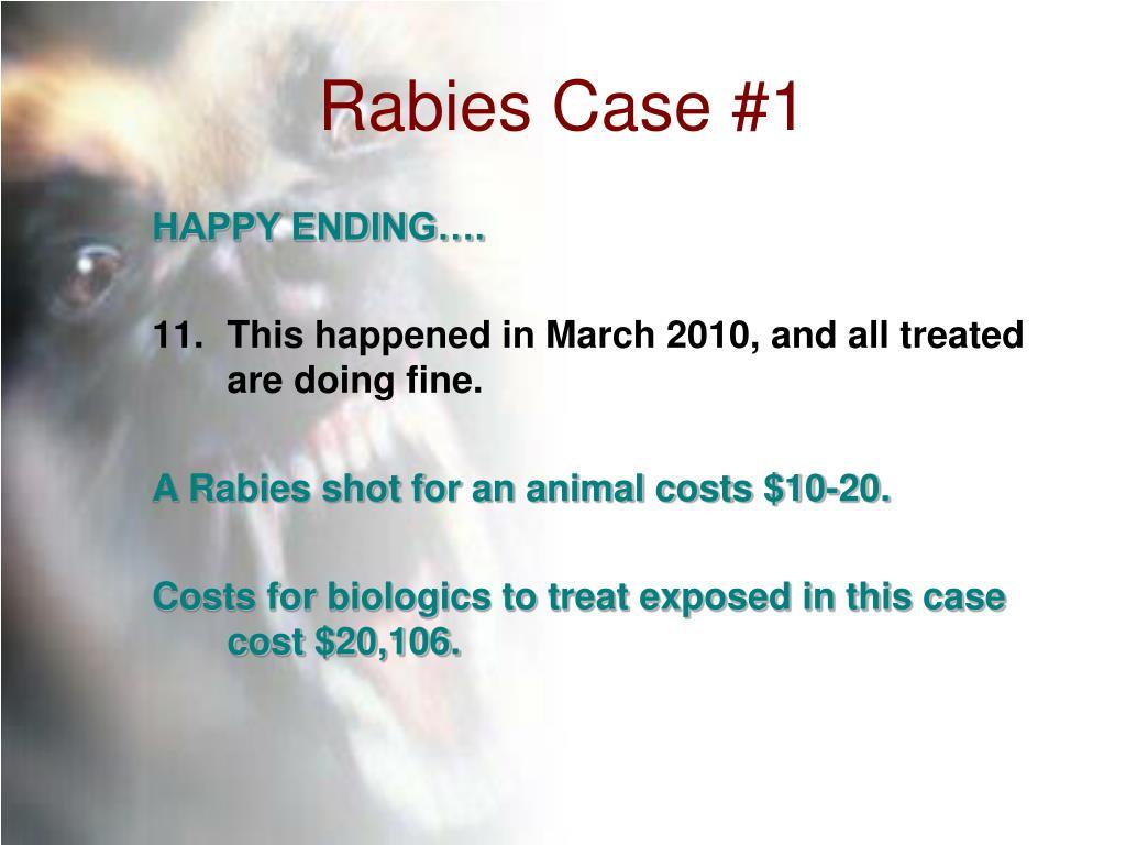 Rabies Case #1