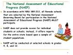 the national assessment of educational progress naep