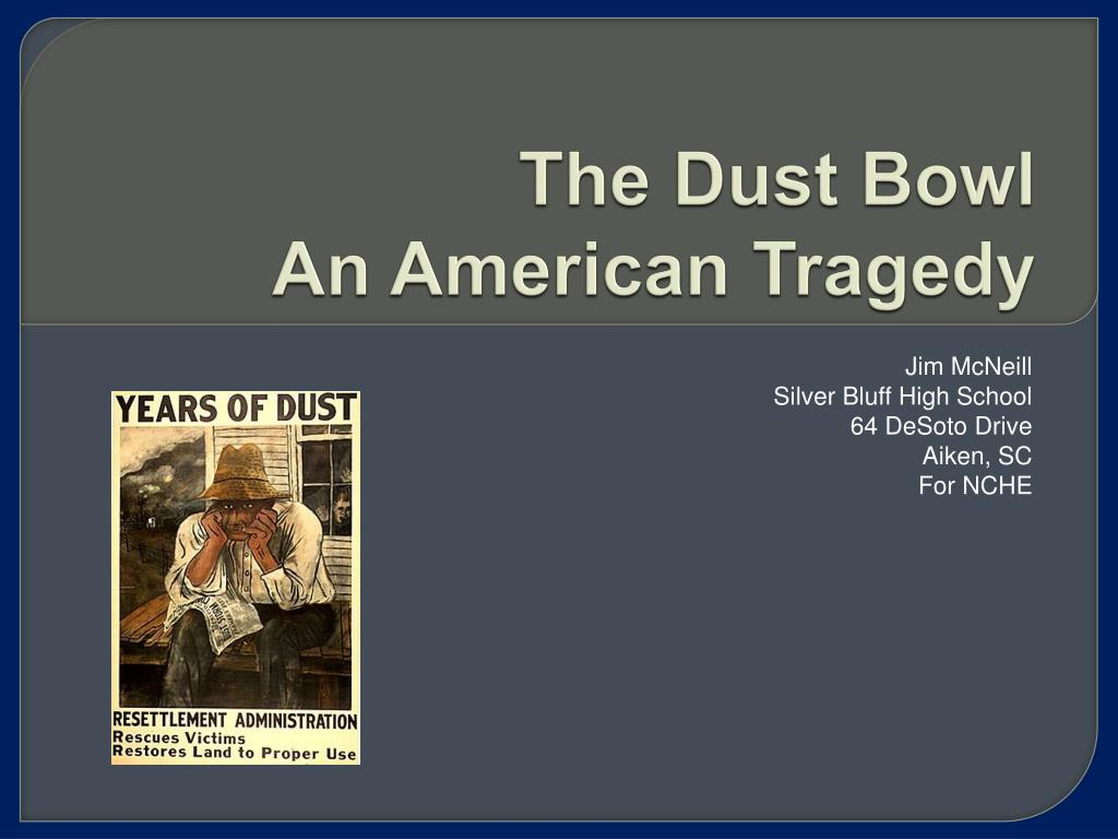 the dust bowl an american tragedy l.