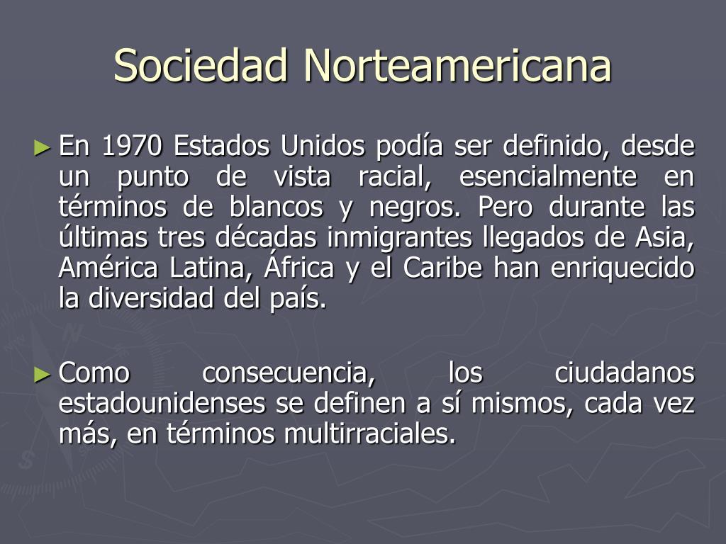Sociedad Norteamericana