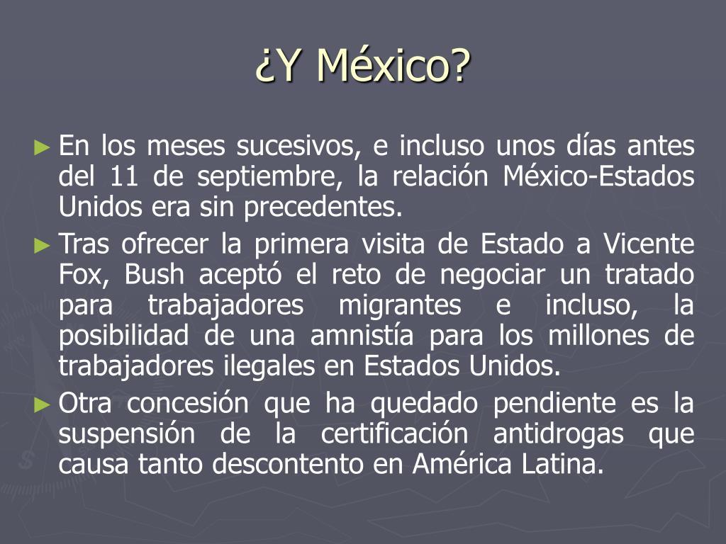 ¿Y México?
