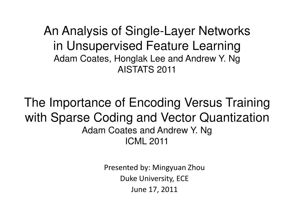 presented by mingyuan zhou duke university ece june 17 2011 l.