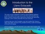 introduction to the llano estacado1
