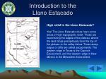 introduction to the llano estacado13