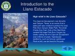 introduction to the llano estacado14