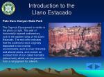 introduction to the llano estacado15
