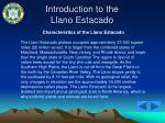 introduction to the llano estacado17