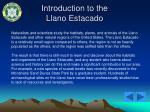 introduction to the llano estacado22