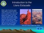 introduction to the llano estacado27