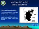 introduction to the llano estacado3