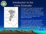 introduction to the llano estacado31