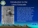 introduction to the llano estacado34