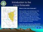introduction to the llano estacado4