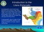 introduction to the llano estacado5