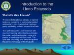 introduction to the llano estacado8