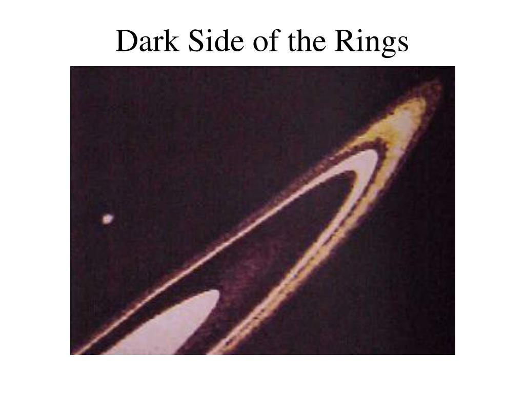 Dark Side of the Rings