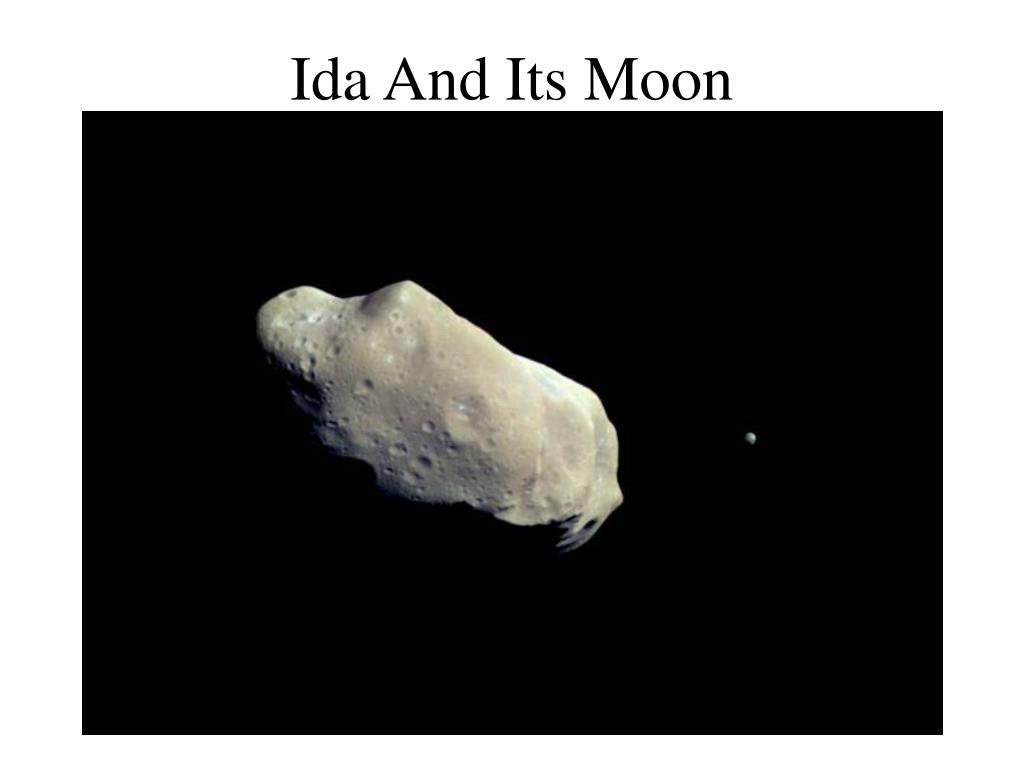 Ida And Its Moon