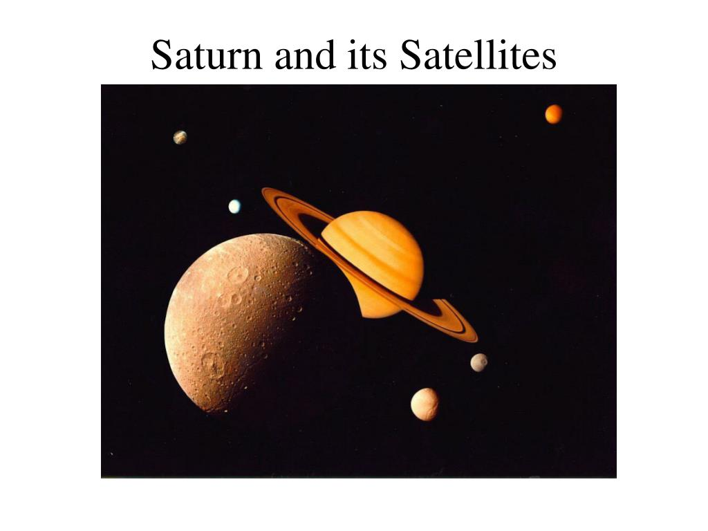 Saturn and its Satellites