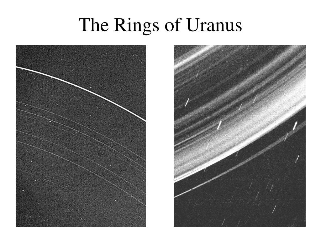 The Rings of Uranus