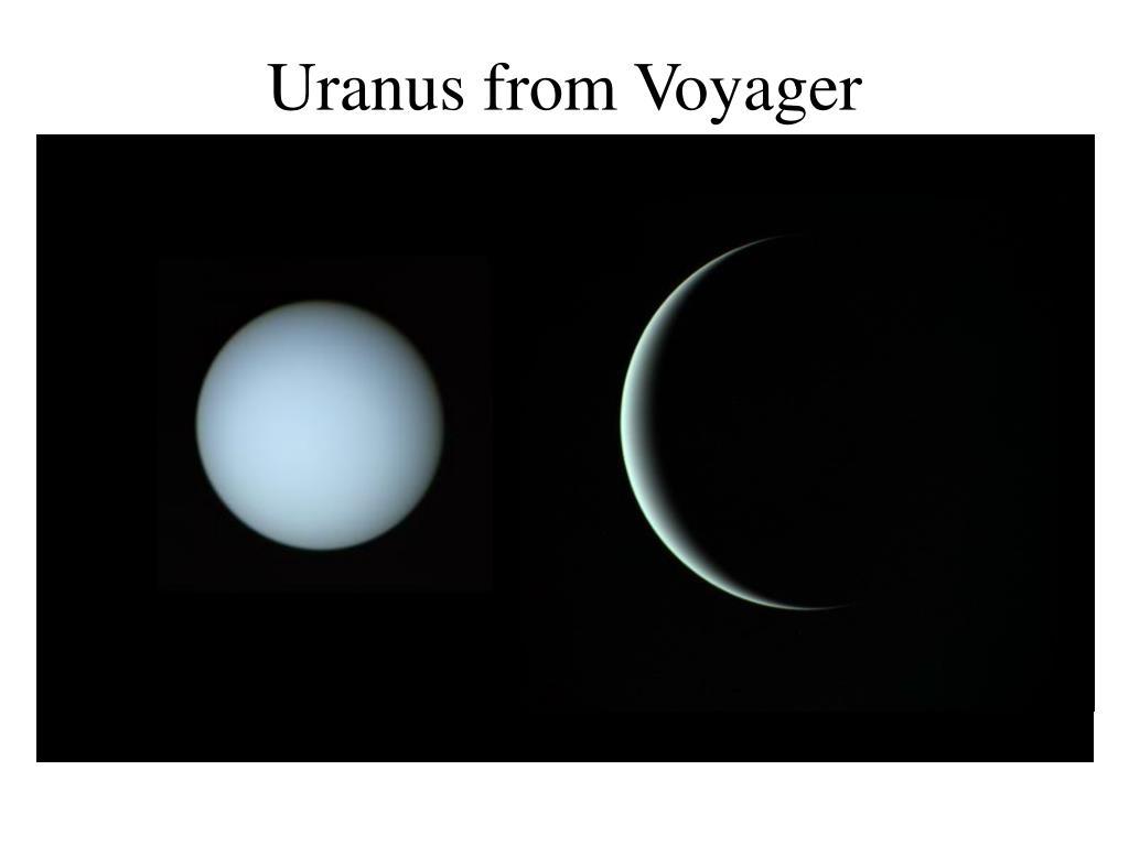 Uranus from Voyager