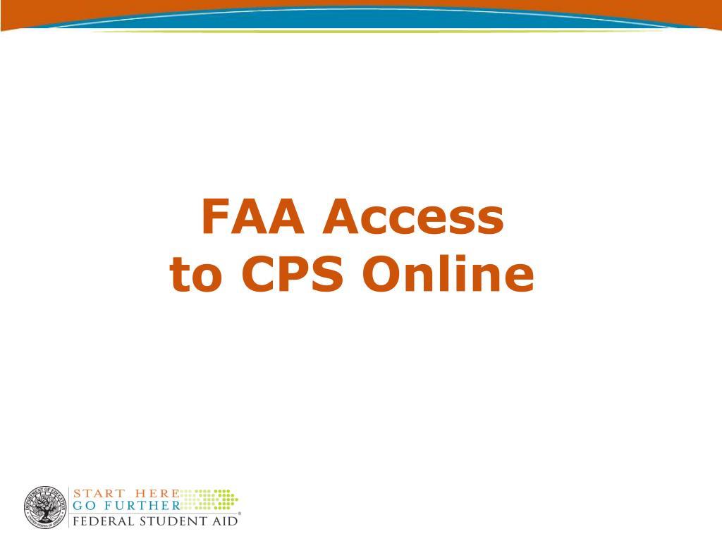 FAA Access
