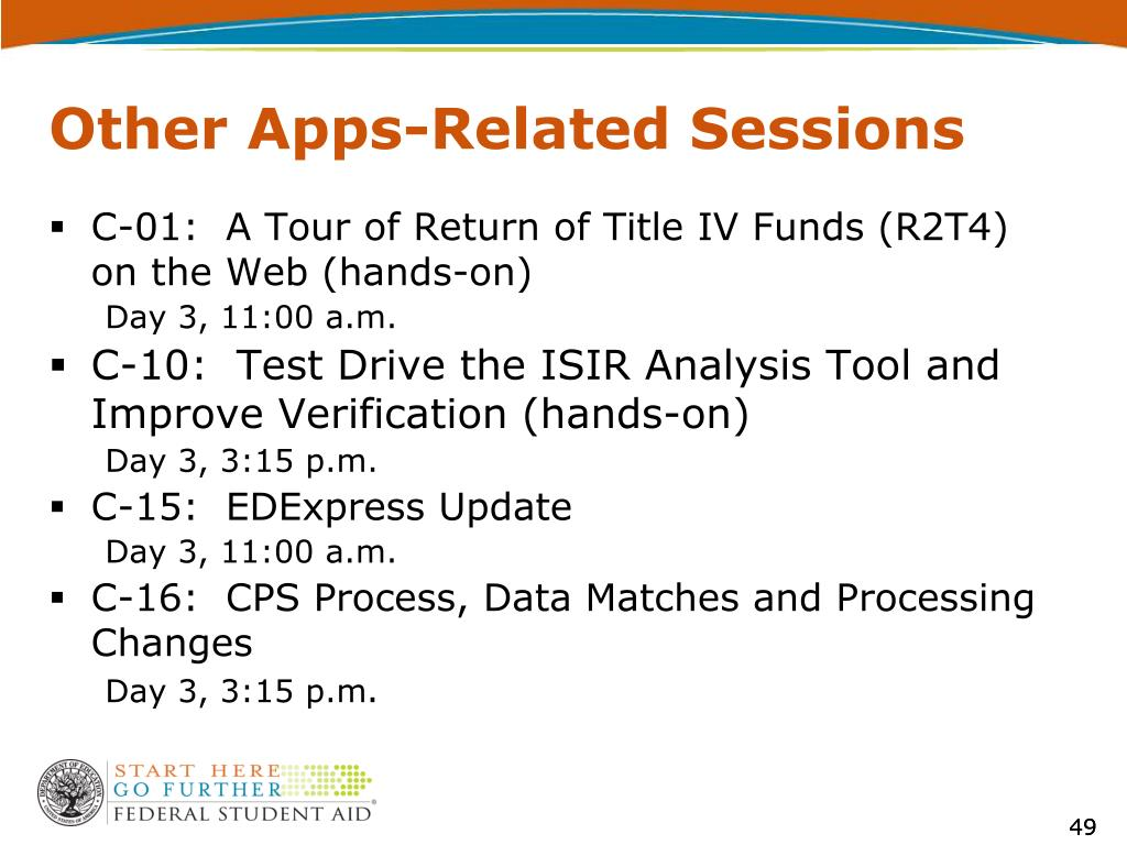 Other Apps-Related Sessions