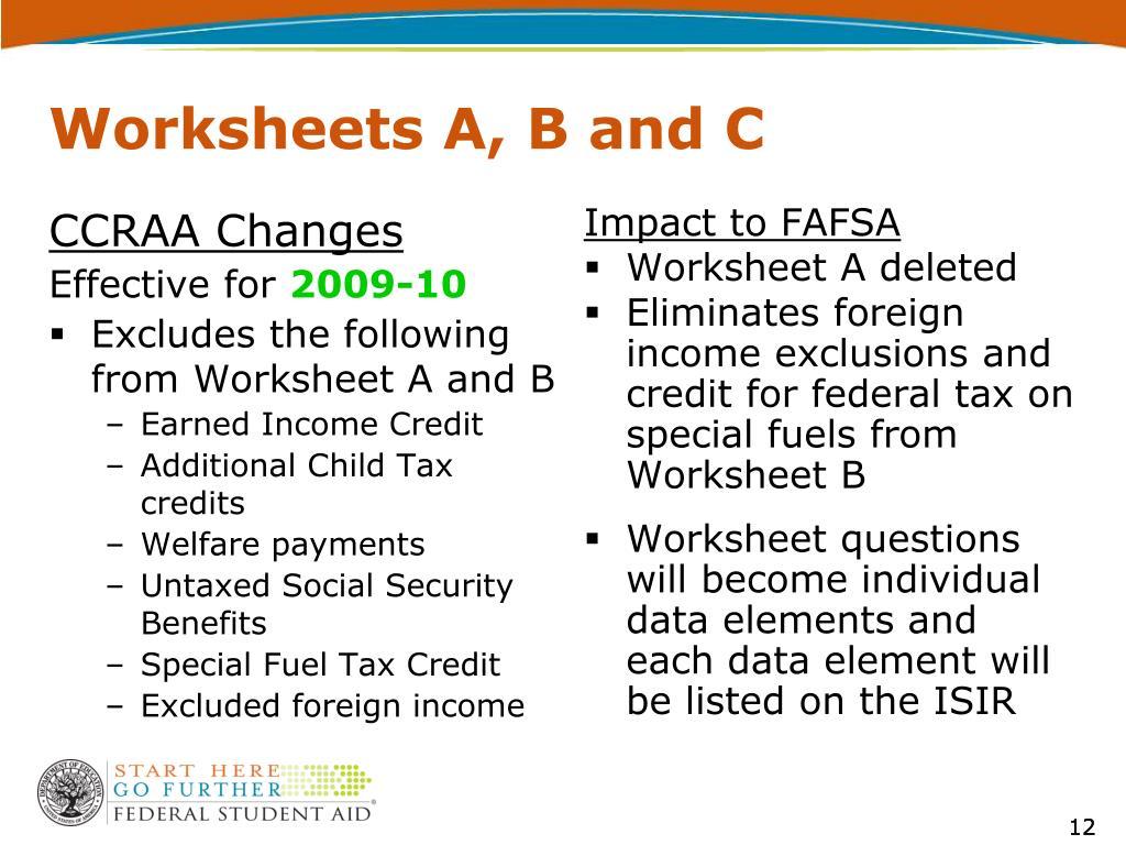 CCRAA Changes