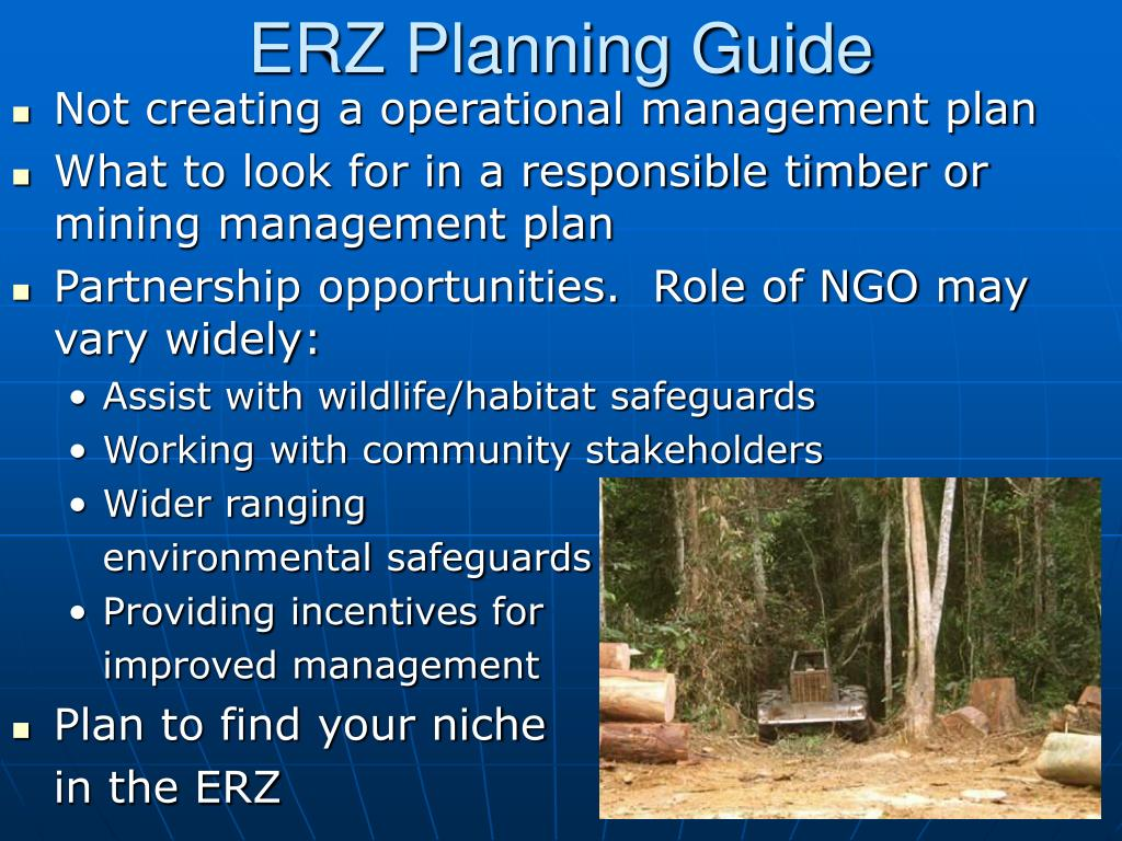 ERZ Planning Guide