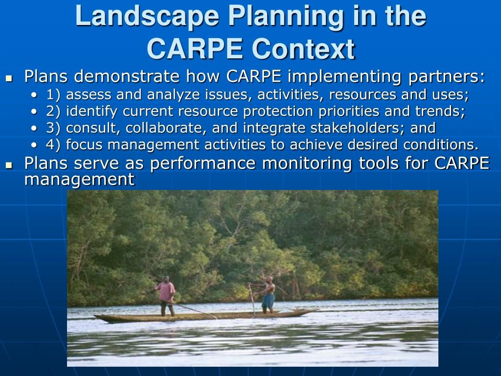 Landscape Planning in the