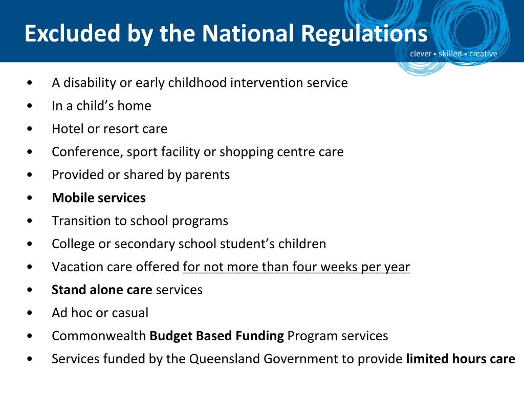 A disability or early childhood intervention service