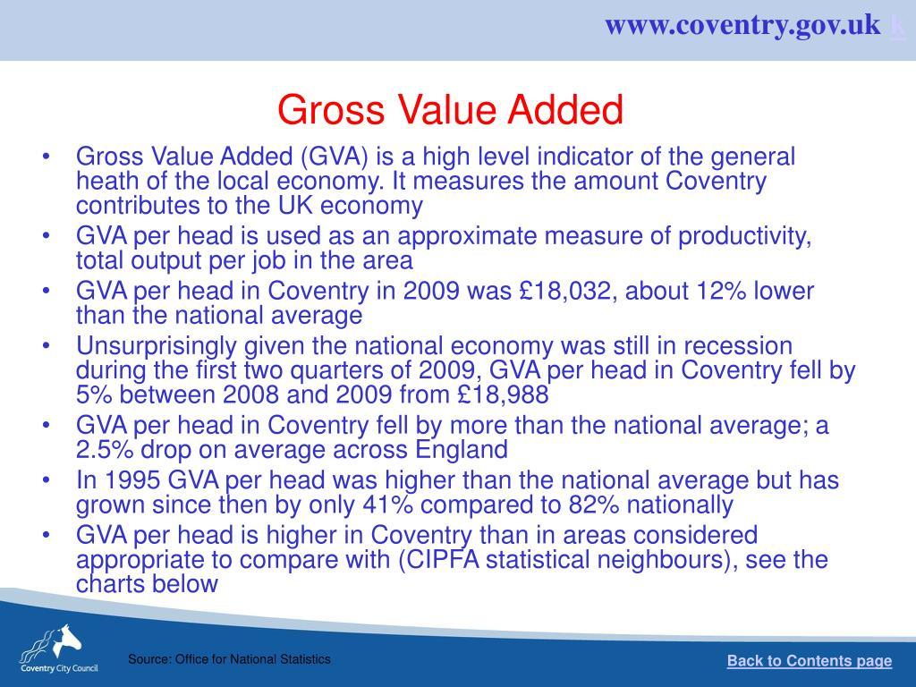 Gross Value Added