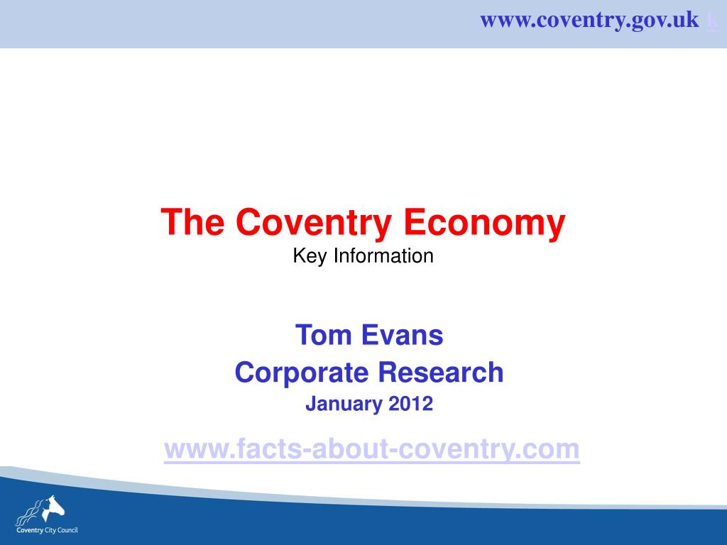 The Coventry Economy