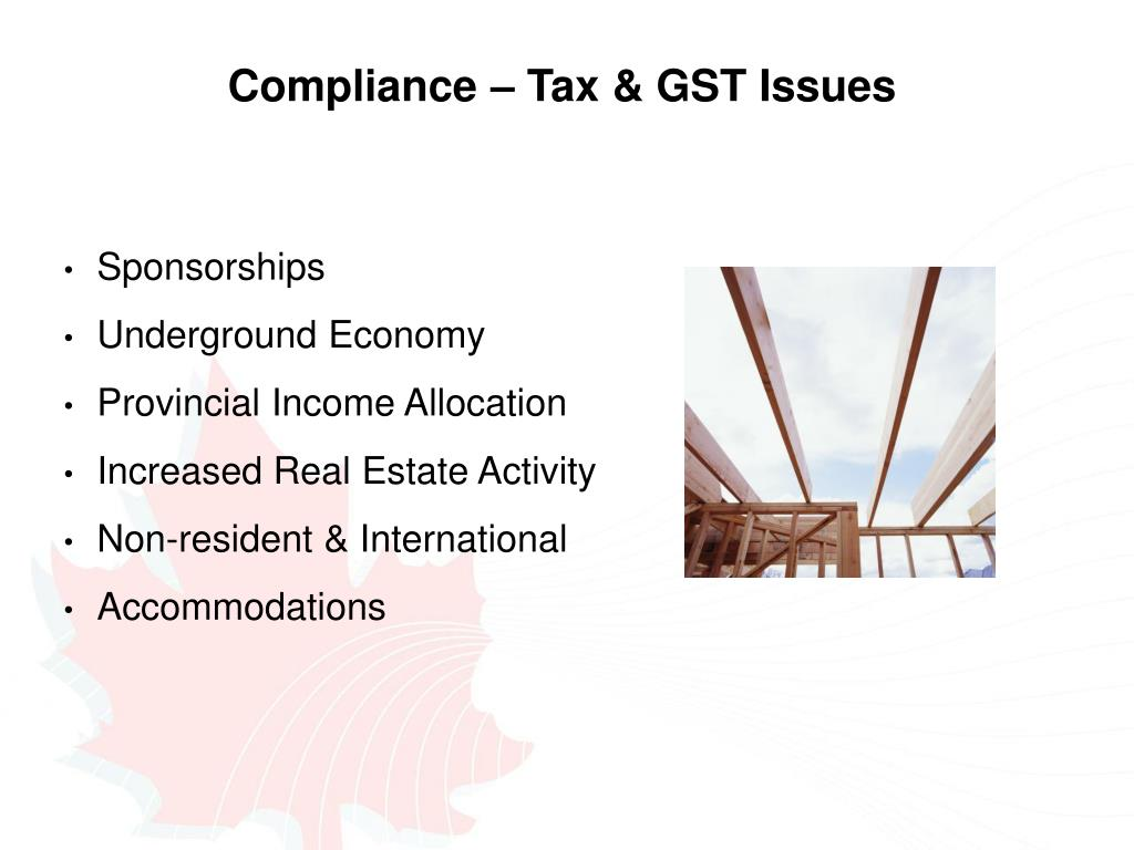 Compliance – Tax & GST Issues