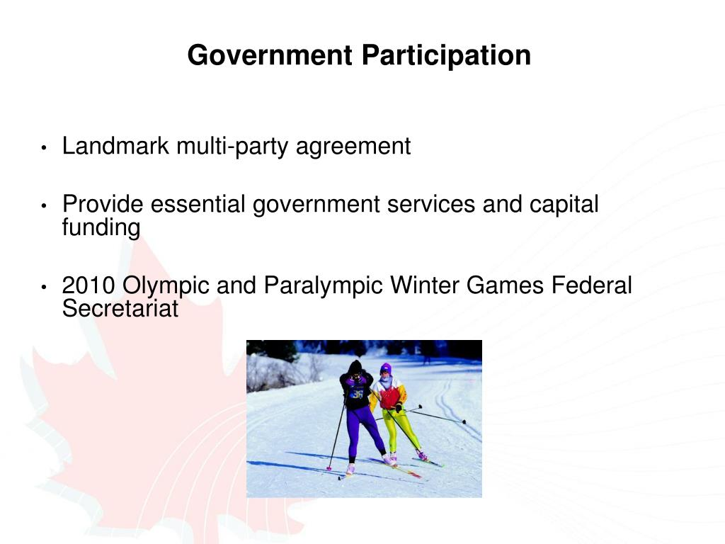 Government Participation