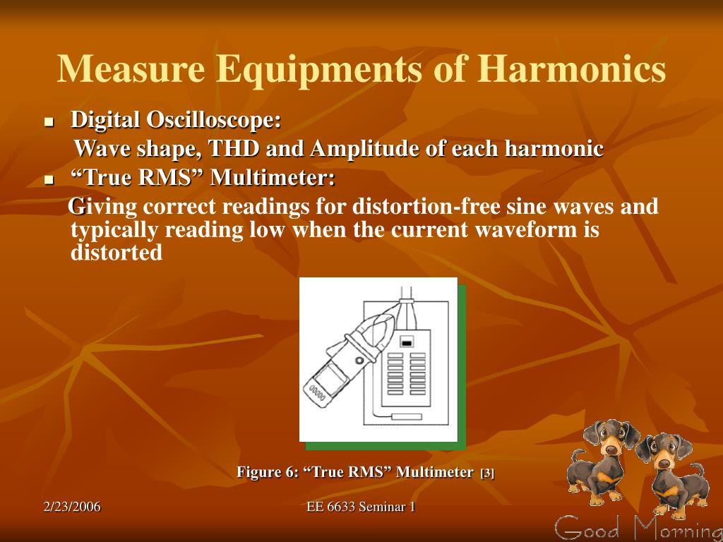 Measure Equipments of Harmonics