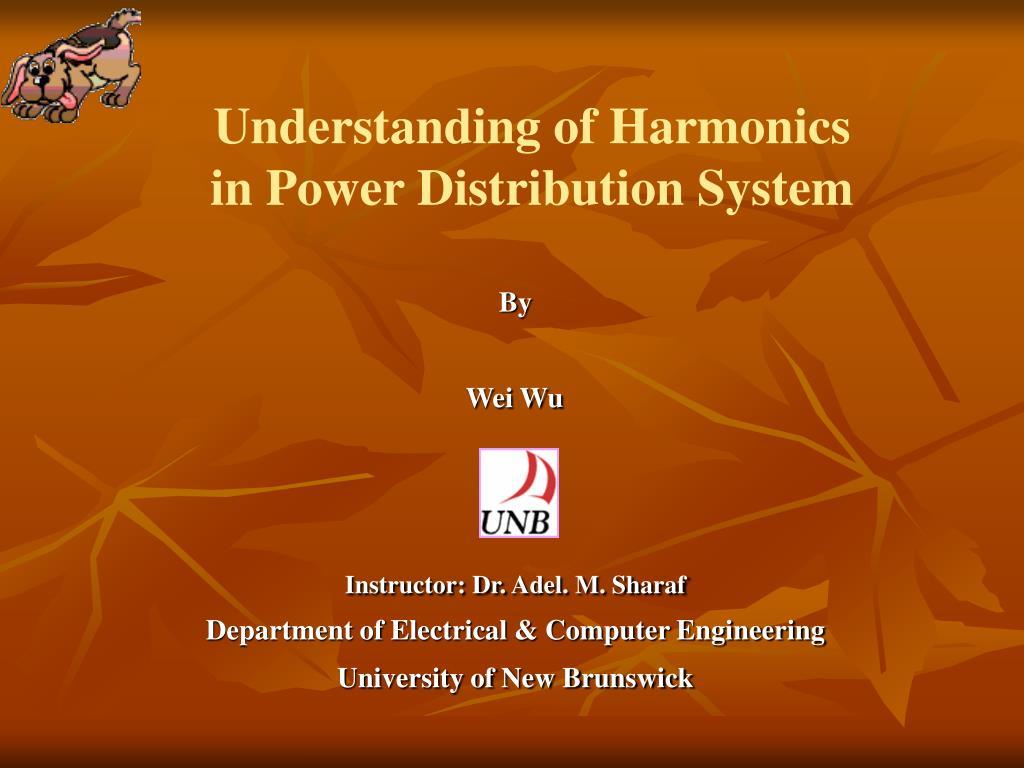 Understanding of Harmonics