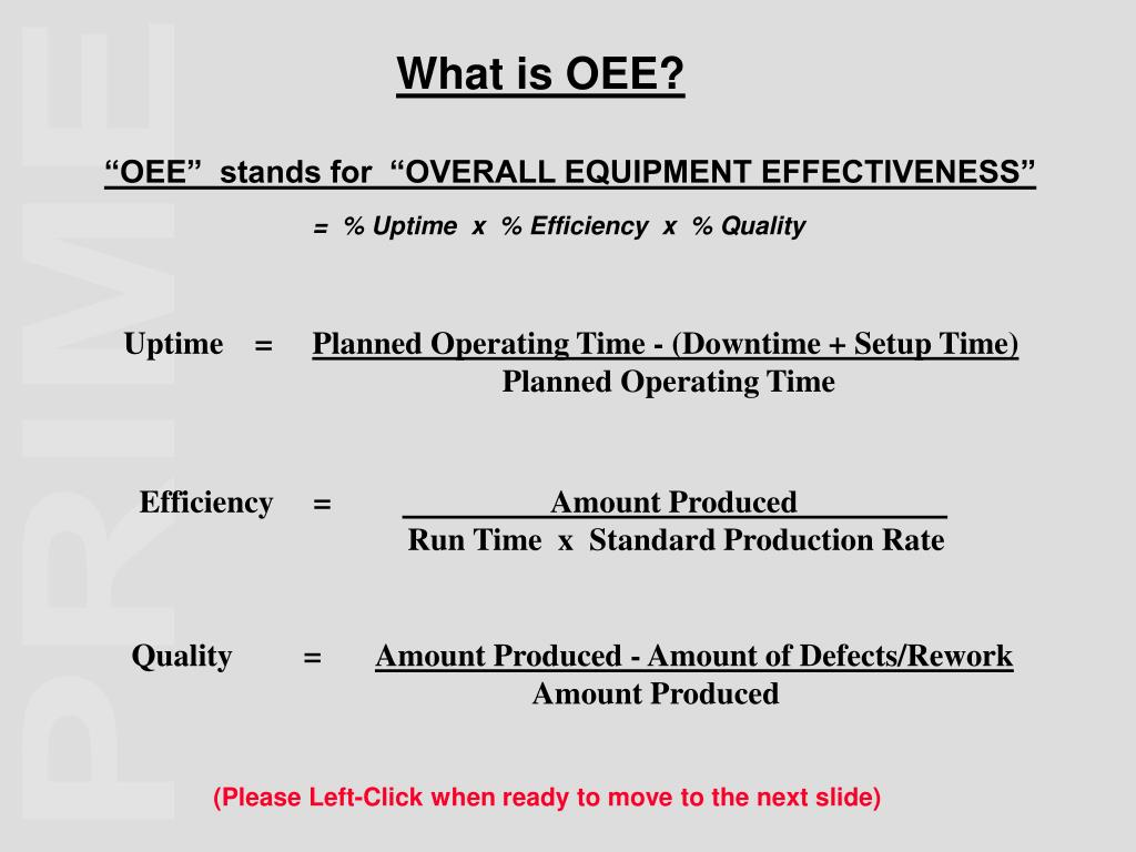 What is OEE?