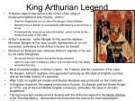 king arthurian legend
